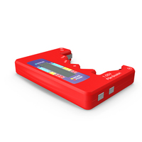 Battery Tester Red PNG & PSD Images