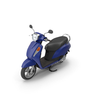 Blue Scooter PNG & PSD Images