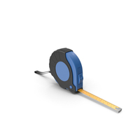 Black and Blue Tape Measure PNG & PSD Images