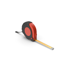 Black and Red Tape Measure PNG & PSD Images