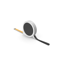 White and Black Tape Measure PNG & PSD Images