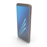 Samsung Galaxy A8 (2018) Blue PNG & PSD Images