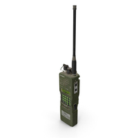 L3Harris Falcon ANPRC-152A Wideband Networking Handheld Radio Dirty PNG & PSD Images