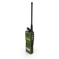 L3Harris Falcon ANPRC-152A Wideband Networking Handheld Radio PNG & PSD Images