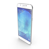 Samsung Galaxy A8 or A8 Duos Pearl White PNG & PSD Images