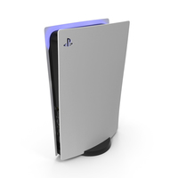 Sony PlayStation 5 no DVD PNG & PSD Images