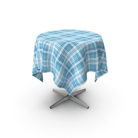 Cafe Table with Cloth PNG & PSD Images