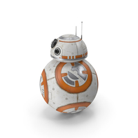 BB-8 Star Wars Character PNG & PSD Images