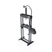 Manual Hydraulic Bench Press PNG & PSD Images