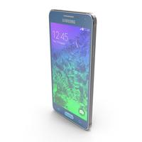 Samsung Galaxy Alpha Scuba Blue PNG & PSD Images