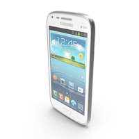 Samsung Galaxy Core Chic White PNG & PSD Images