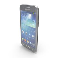 Samsung Galaxy Core LTE Black PNG & PSD Images