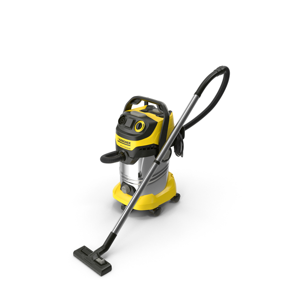 Multi-Purpose Vacuum Cleaner Karcher WD6 PNG & PSD Images