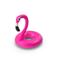 Inflatable Flamingo PNG & PSD Images