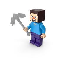 Lego Minecraft Steve PNG & PSD Images