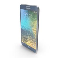 Samsung Galaxy E7 Blue PNG & PSD Images