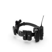 Police Modular Enforcement Equipment Belt PNG & PSD Images