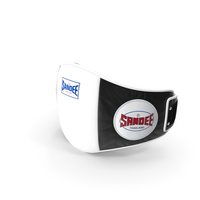 Sandee Velcro Belly Pad Black White PNG & PSD Images