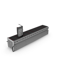 Server SATA HDD Case PNG & PSD Images