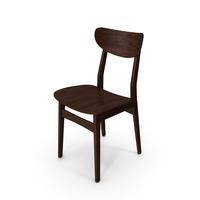 Classical Scandinavian Chair PNG & PSD Images