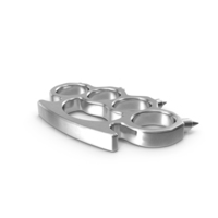 Spiked Silver Brass Knuckles PNG & PSD Images