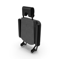 Stewardess Folded Seat PNG & PSD Images