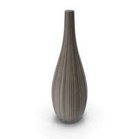 Tall Ceramic Fashion Vase PNG & PSD Images