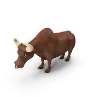 Cartoon Character Bull PNG & PSD Images