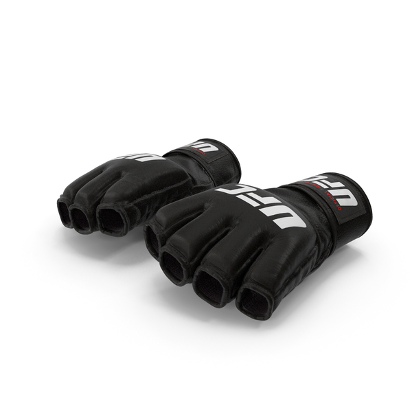 UFC Official Leather Fight Gloves PNG & PSD Images