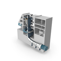 Variable Speed Pumped Storage Power Plant PNG & PSD Images