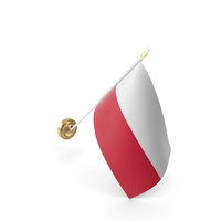 Wall Flag Poland PNG & PSD Images
