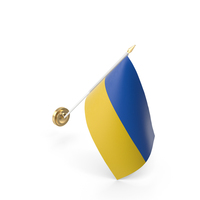 Wall Flag Ukraine PNG & PSD Images