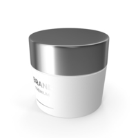 White Cosmetic Cream Jar PNG & PSD Images
