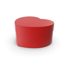 Heart Box Closed Red PNG & PSD Images