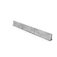 Concrete Barrier Group PNG & PSD Images