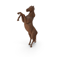 Wooden Statuette Horse PNG & PSD Images