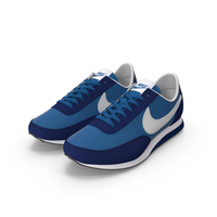 Nike Trainer Blue PNG & PSD Images