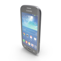 Samsung Galaxy S Duos 2 & Trend Plus Black PNG & PSD Images