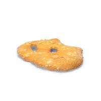 Sea Salt Pretzel Thin Cracker PNG & PSD Images
