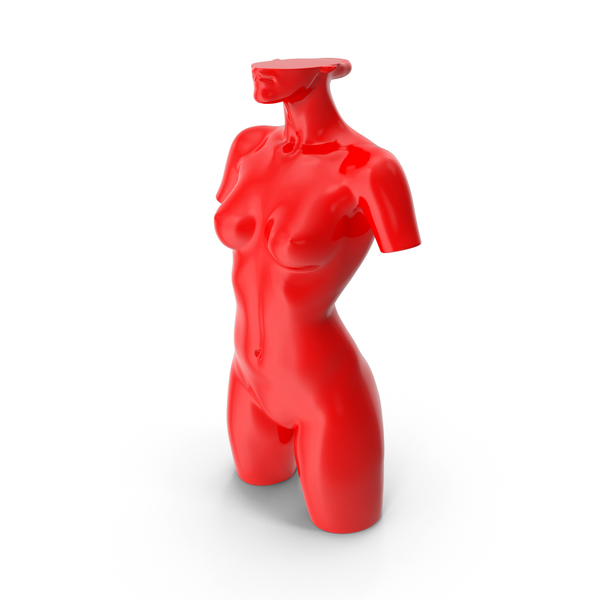 Mannequin A Plastic Red PNG & PSD Images
