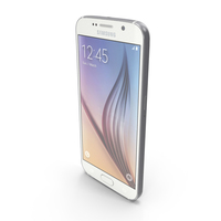 Samsung Galaxy S6 White Pearl PNG & PSD Images