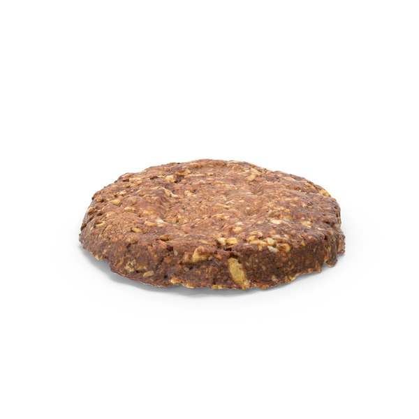 Chocolate Oat Biscuit PNG & PSD Images
