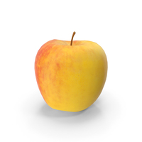3D Scan of Apple PNG & PSD Images
