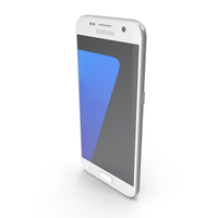 Samsung Galaxy S7 White PNG & PSD Images