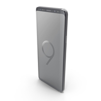 Samsung Galaxy S9 Plus Titanium Gray PNG & PSD Images