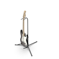 Stratocaster Guitar PNG & PSD Images