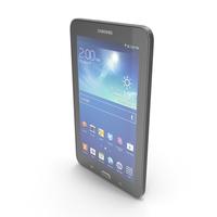 Samsung Galaxy Tab 3 Lite 7.0 & 3G Black PNG & PSD Images