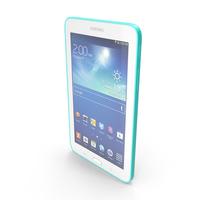 Samsung Galaxy Tab 3 Lite 7.0 & 3G Green PNG & PSD Images