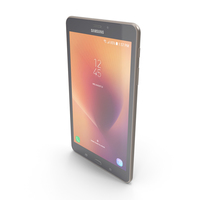 Samsung Galaxy Tab A 8.0 (2017) Gold PNG & PSD Images