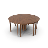 Pinwheel Table PNG & PSD Images